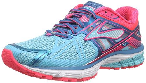 Brooks Ravenna 6 - Zapatillas de running Mujer, Azul - Blau (Capri/Celestial/DivaPink), EU 36.5 (US 6)