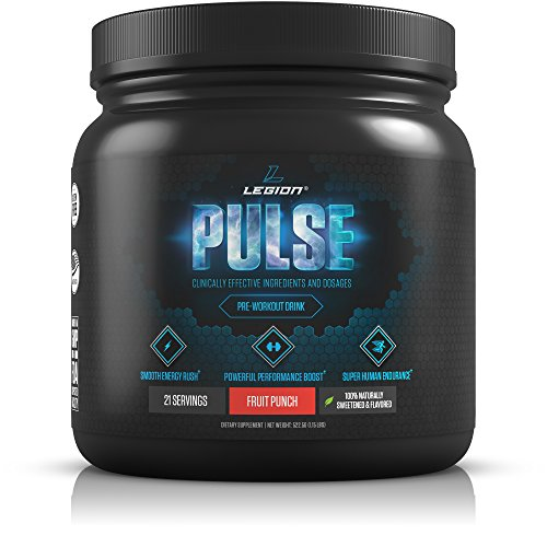 LEGION Pulse Naturally Sweetened Pre Workout Supplement review