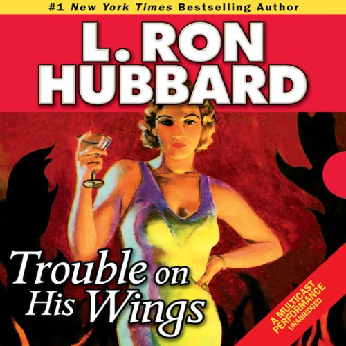 Trouble on His Wings audiobook cover art