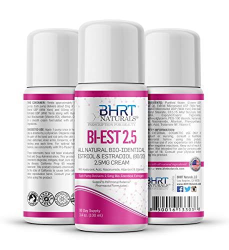 Bi-Estrogen Cream for Women Menopause Relief – All Natural...