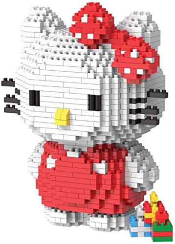 RSVT Gato Bloque De Construcción Figuras De Acción Figuras De Juguete Regalos Educativos Ensamblaje De Plástico En Miniatura (1309Pcs)