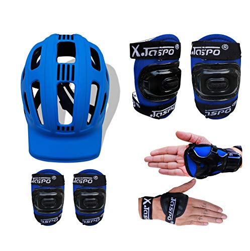 jaspo SX 4 Protective Set Blue(Suitable to Age Group Upto 14 Years)