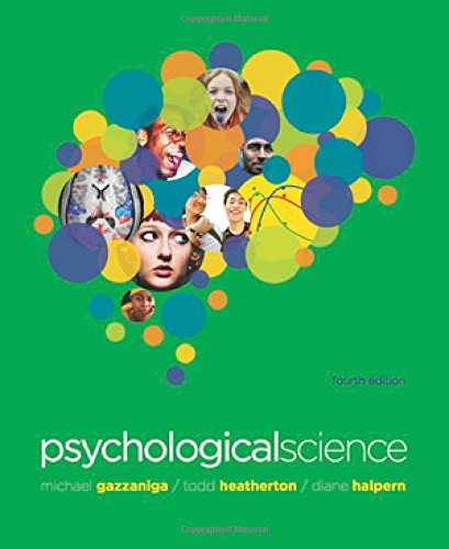 Psychological Science, 4th Edition