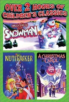 DVD Magic Gift of the Snowman/The Nutcracker/A Christmas Carol Book