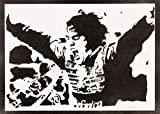Poster Fernando Alonso F1 Grafiti Hecho a Mano - Handmade Street Art - Artwork