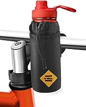 Bovon Bike Water Bottle Holder,Insulated Bike Bag with Stable Triangular Bike Frame & Handlebar Attachment Design, Lightweight Stroller & Bicycle & Bike Cup Holder for Drinks,Food,Snack Storage