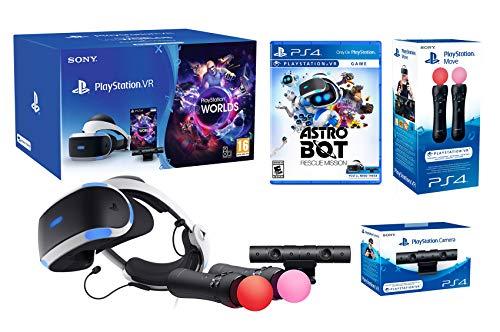 Playstation VR2 (CUH-ZVR2) 'Starter Plus Astrobot Pack' VR Worlds + Astrobot + Kamera V2 + Twin Move Kontrollers