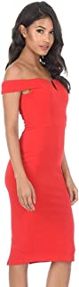 AX Paris Women's Bardot Bodycon Dress