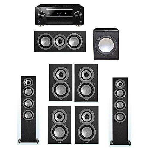Learn More About ELAC Uni-Fi 7.1 System with 2 ELAC UF5 Floorstanding Speakers, 1 UC5 Center Speaker...