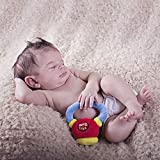 WOD Toys Baby Kettlebell Plush Kettle with Rattle - Safe, Durable Fitness Toy for Newborns, Infants and Babies