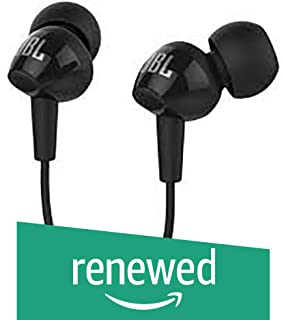 (Renewed) JBL C150SI in-Ear Earphone (Black)
