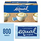 EQUAL 0 Calorie Sweetener, Sugar Substitute, Zero Calorie Sugar Alternative Sweetener Packets, Sugar...