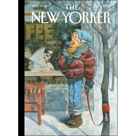 The New Yorker (Feb. 5, 2007) audiobook cover art