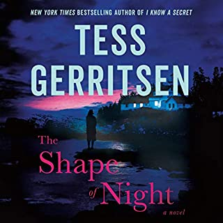 The Shape of Night audiobook cover art