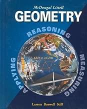 Geometry, Grade 10: Mcdougal Littell High School Math (McDougal Littell High Geometry)