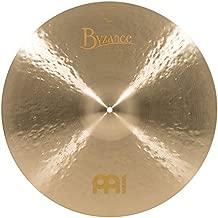 Meinl Cymbals B20JTC Byzance 20-Inch Jazz Thin Crash Cymbal (VIDEO)