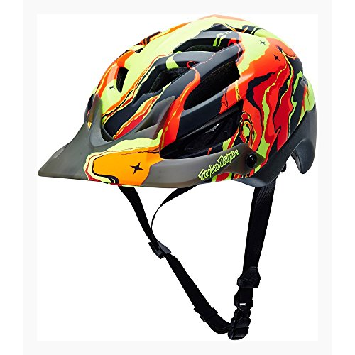 Troy Lee Casque Galaxy A1 (2015) Rouge Rouge XSmall/Small (54-56cm)