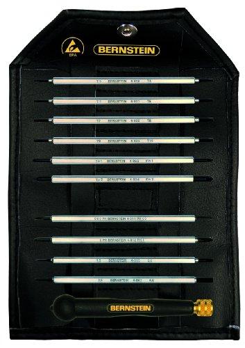 Bernstein 4-960 Kit de lames de tournevis avec manche ESD 11 pièces