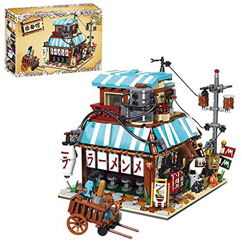 Tewerfitisme Baustein Casa modello, 2000 mattoncini da costruzione moderni, visualizzazione stradale, edifici modulari, per lavori di modello, compatibile con casa Lego