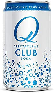 Q Mixers Club Soda, Premium Cocktail Mixer, 7.5 oz (12 Cans)