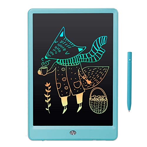 LCD Writing Tablet, Electronic Writing Drawing Colorful Screen Doodle Board, EooCoo 10' Handwriting Drawing Tablet Gifts for 3 4 5 6 7 Years Old Kids and Adults at Home, School, Office, Blue