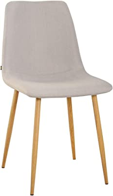 Set di 4 sedie scandinave ZONS Stockholm in velluto colore: Antracite e legno