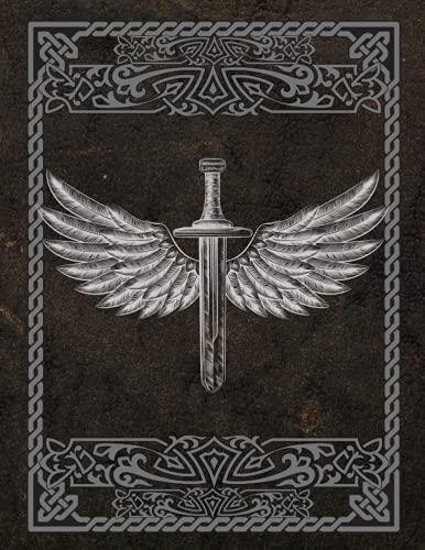 Libro de Rol: Cuaderno para Juegos RPG. Papel Hexagonal, Cuadriculado, Punteado y Lineado.