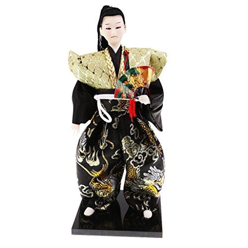 Bambola Samurai Artigianato Giapponese Artigianato Bambola Umanoide Regalo Per La Decorazione Dell'ufficio - 4