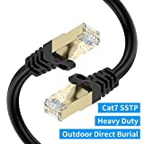 Best Ethernet Cable 100fts - Cat7 Ethernet Cable 100ft, BIFALE Cat7 Outdoor Cable Review