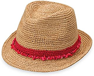 Wallaroo Hat Company Tahiti Trilby – Two-Toned Sun Hat, Packable, Adjustable, Modern Style, Designed in Australia
