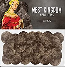 west kingdom metal coins