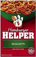 Betty Crocker Hamburger Helper Spaghetti, 6.6-Ounce Boxes (Pack of 12) by Hamburger Helper