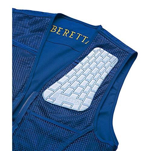 Beretta Recoil Reducer Gel-Tek. In eine spezielle Tasche in der Weste stecken, Gel-Pad, Farbe Blu, Gewicht: 0,5 kg