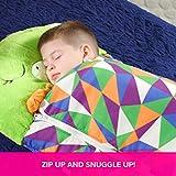 High Street TV Happy Nappers Play Pillow, Fun Sleeping Bag Surprise, Dragon (Medium 3-6yrs)