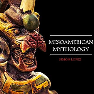 Mesoamerican Mythology audiobook cover art