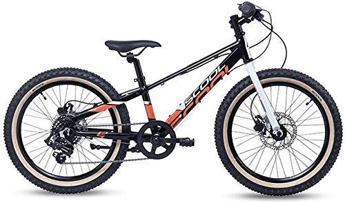 S'Cool Xroc Disc Alloy 20R 7S Vélo VTT pour enfant 28 cm Noir/gris/rouge