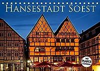 Hansestadt Soest (Tischkalender 2022 DIN A5 quer): Soest - die alte Hansestadt erwartet Sie mit ueber 600 Baudenkmaelern umgeben von einer noch zu drei Vierteln erhaltenen Stadtmauer (Geburtstagskalender, 14 Seiten )