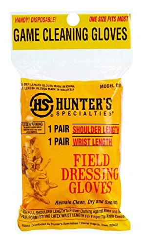 Hunters Specialties Field Dressing Gloves Combo, 6-Pack