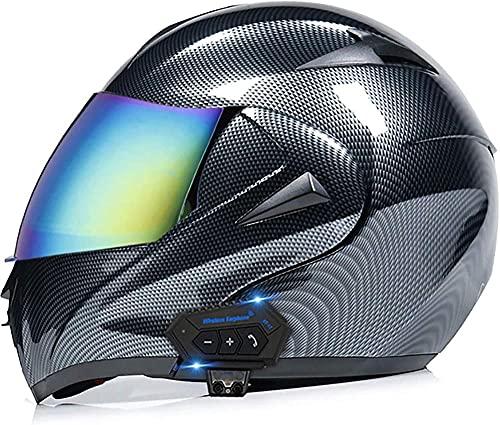 Motorradhelm mit Bluetooth,...