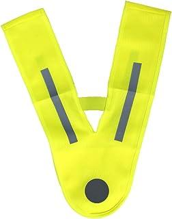 PROJECTS Warnweste Kinder 3-6 Jahre Leuchtweste Kinder Reflektorweste gelb | Warnwesten Auto Kinder Sicherheitsweste Kinde...
