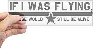 CafePress Goose (White) Bumper Sticker 10