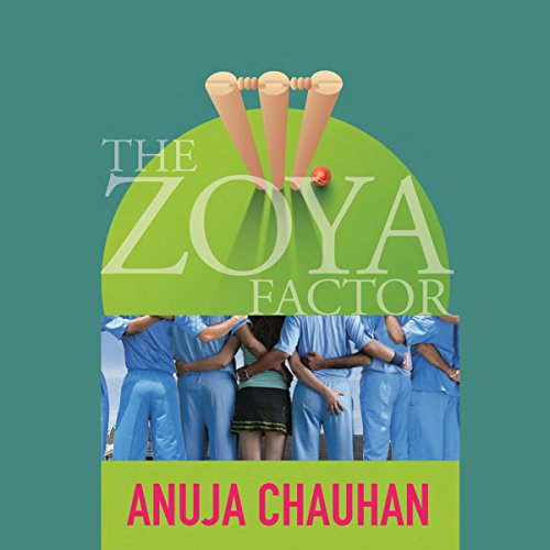 The Zoya Factor audiobook cover art