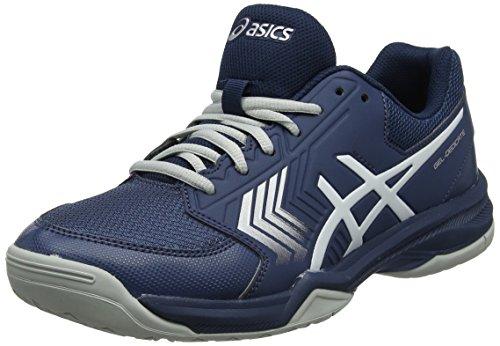 Asics Gel-Dedicate 5, Zapatillas de Tenis para Hombre, Amarillo (Sulphur Spring/Ink Blue/Silver 8945), 43.5 EU