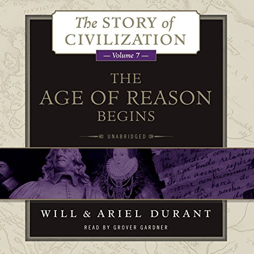 The Age of Reason Begins audiobook cover art