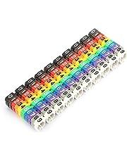 Draadnummer, digitale nummer buis draad nummer label buis kabel marker set voor kabel markers