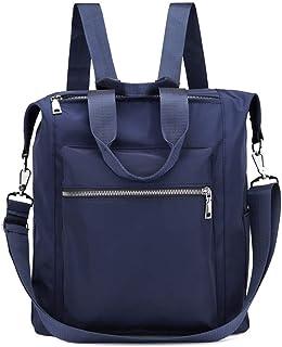 Accroche-sacs Femmes Vintage Sac À Dos Sac À Dos Sac À Bandoulière Étudiant Adolescent Casual Bags Bleu Foncé model Kofun Sac À Dos