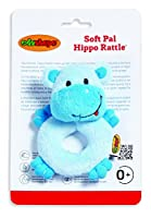 Edushape Soft Pal, Hippo Rattle by Edushape
