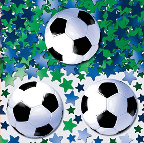 amscan International Confettis Football/Soccer