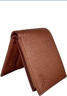 TIGENECY Brand bro Original Artificial Leather Wallet (3 Card Slots) Wood