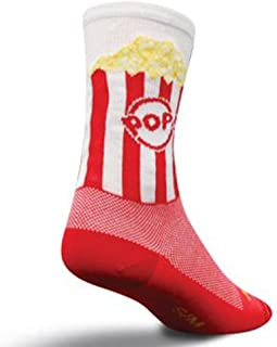 SockGuy Crew 6in Popcorn Cycling/Running Socks